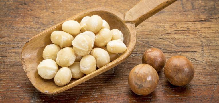 Nozes-macadamia