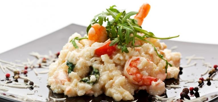 Risotto de frutos do mar