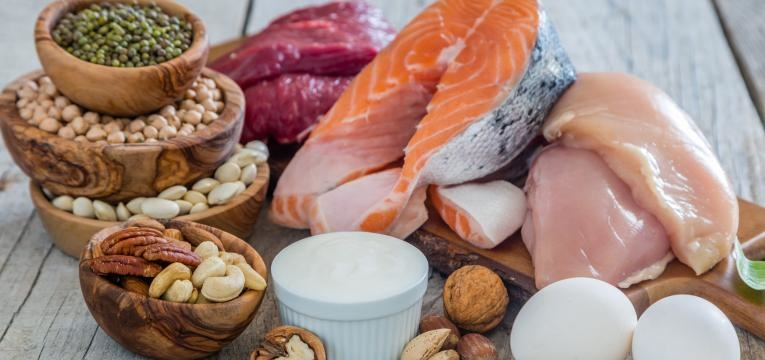 proteina variada
