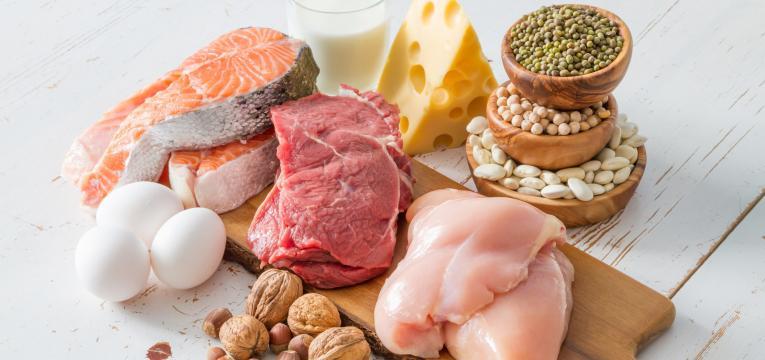 o que comer antes do treino proteina