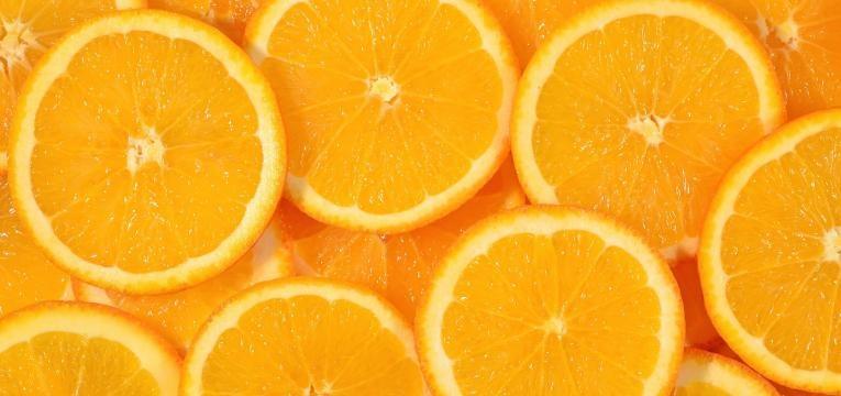 metades de laranja