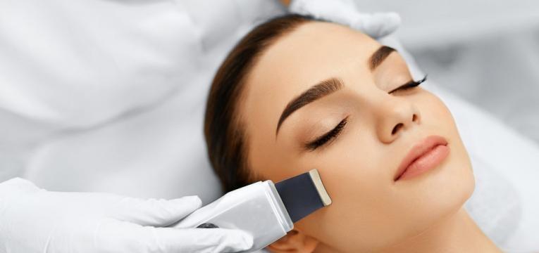 peeling facial ultra sonico