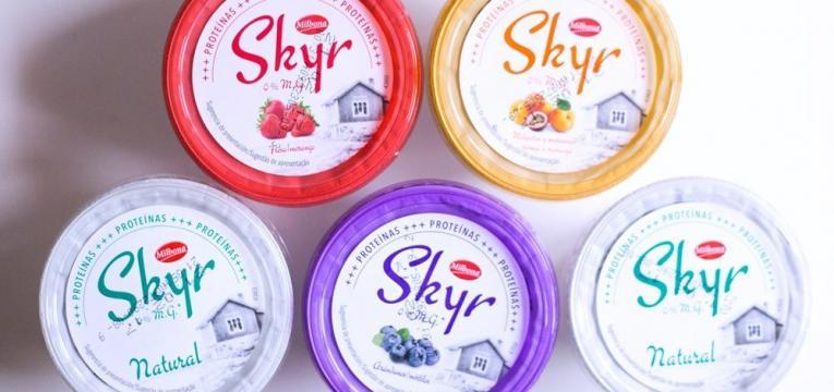 skyr e tendências de nutrição