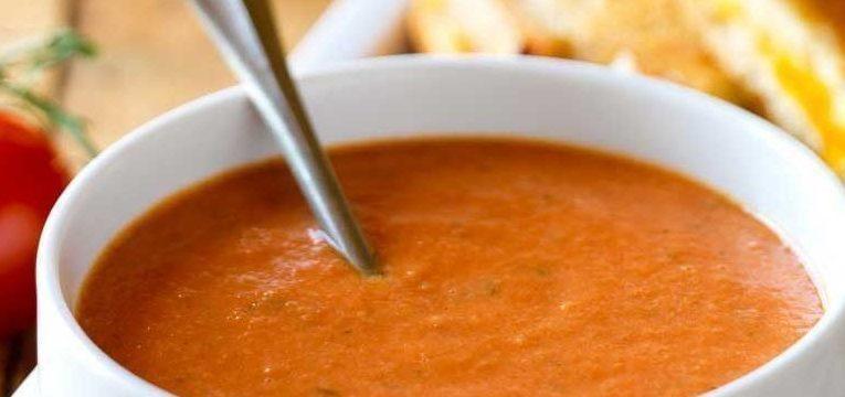 comer sopa antes das refeicoes
