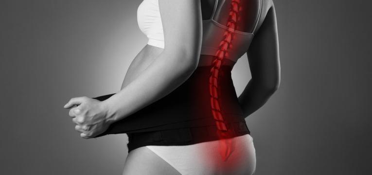 uso de cintas para apoio na gravidez