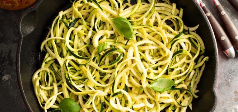 Esparguete de courgette
