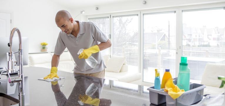 limpeza excessiva da casa