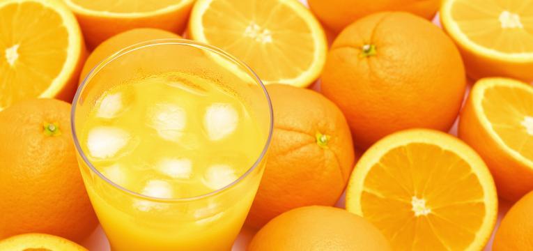laranja para dentes saudáveis