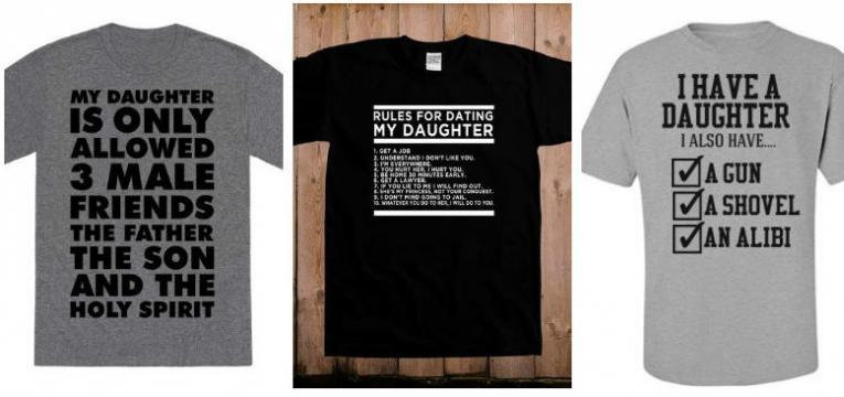 t-shirts para pais protetores em t-shirts para o dia do pai
