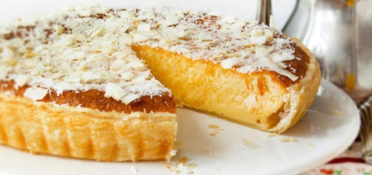 tarte de coco simples