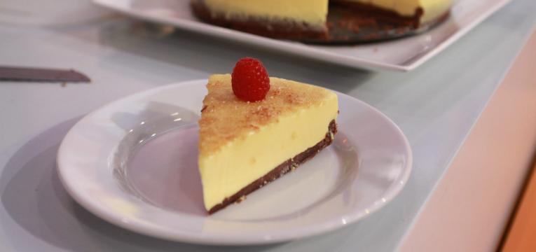 tarte de maracuja caramelizada