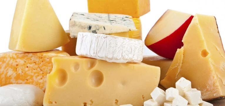 diferentes queijos