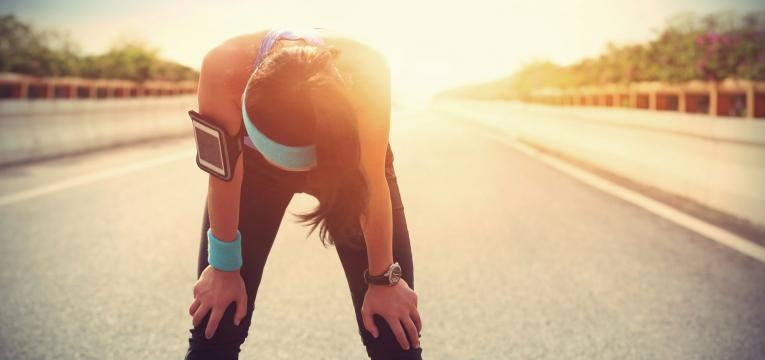 erros ao correr e nao realizar o descanso adequado