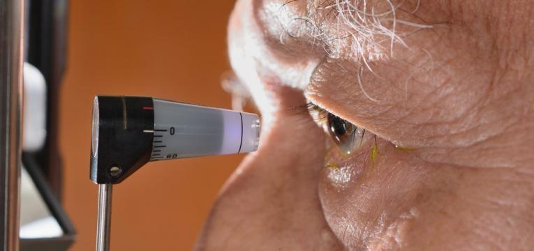 glaucoma e teste de pressao ocular