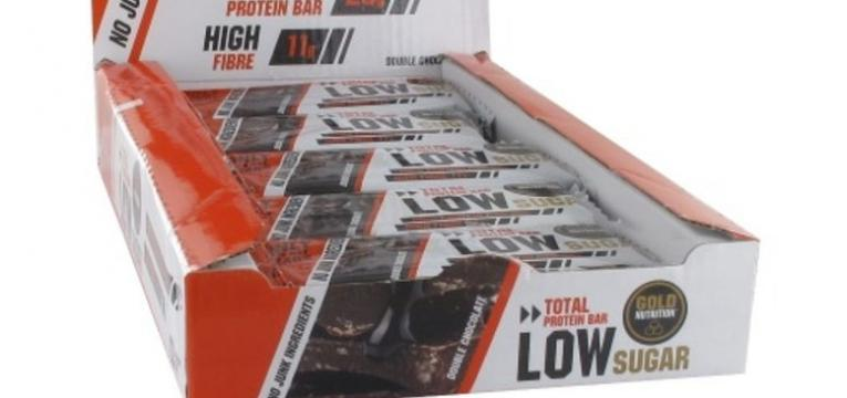Total Protein Bar Low Sugar 60 g da Gold Nutrition