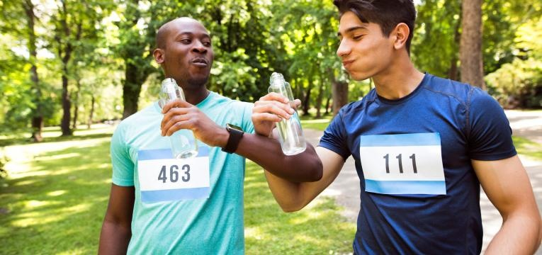 hidratacao maratona
