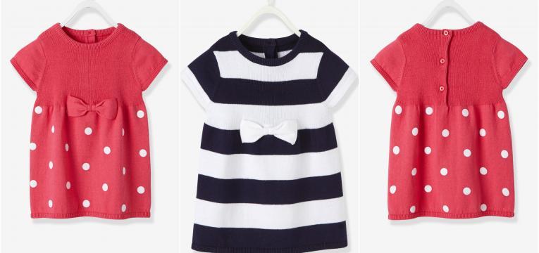 vestidos em presentes para baby shower de menina