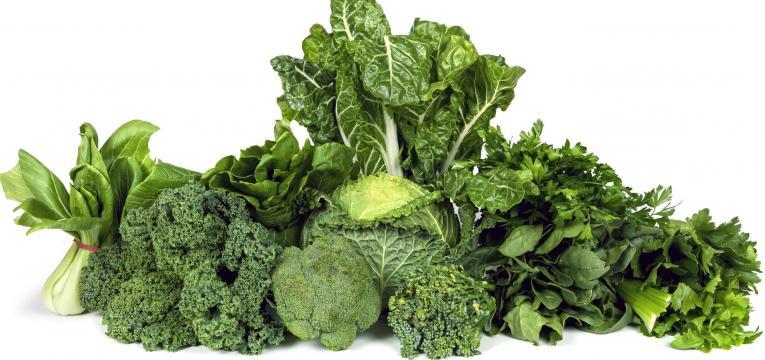 vitamina b9 e vegetais folha verde