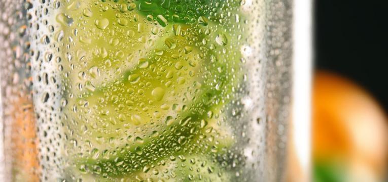 agua com sabores