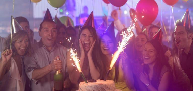festa de aniversario com amigos