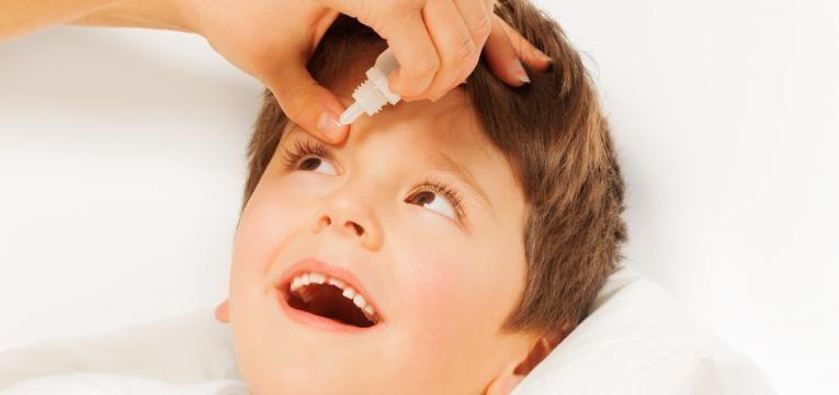 conjuntivite infantil