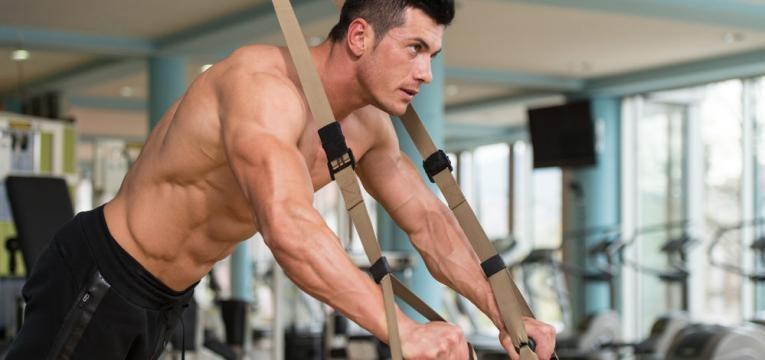 exercicios com trx para bracos e flexao