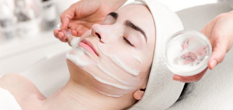 tratamento com Peeling Quimico