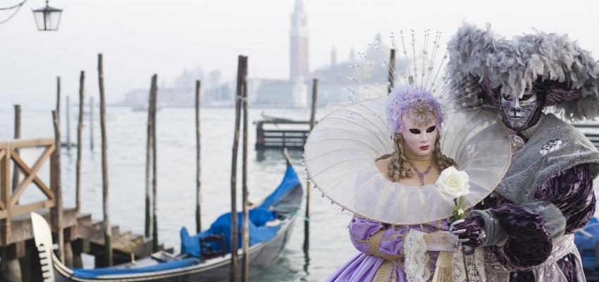 Carnaval de veneza e programacao