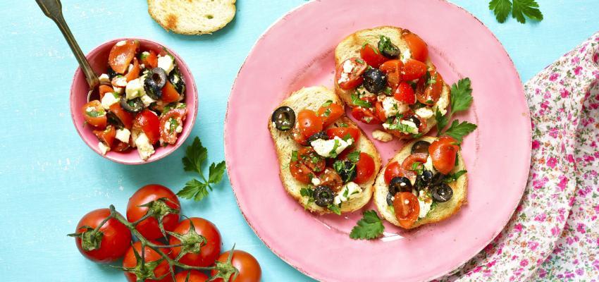 receita saudavel com tomate