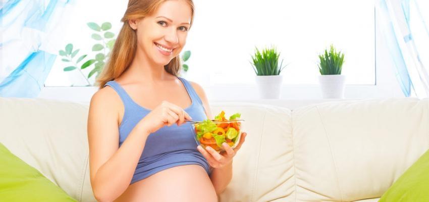 ganho de peso durante a gravidez e gravida a comer saudavel