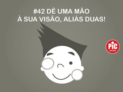 #42 DÊ UMA MÃO À SUA VISÃO, ALIÁS DUAS!