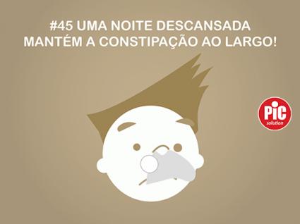 #45 UMA NOITE DESCANSADA MANTÉM A CONSTIPAÇÃO AO LARGO!