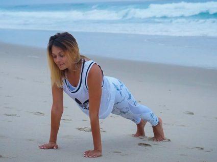 6 Exercícios para treinar na praia: as sugestões da Vanessa Alfaro