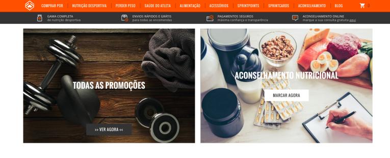 loja online com aconselhamento nutricional
