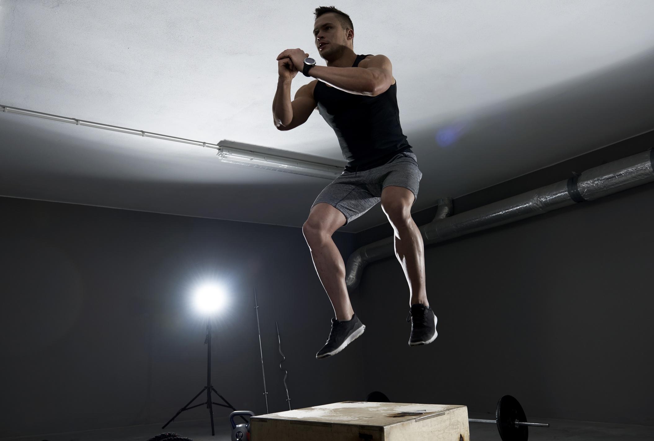 Agachamento com salto