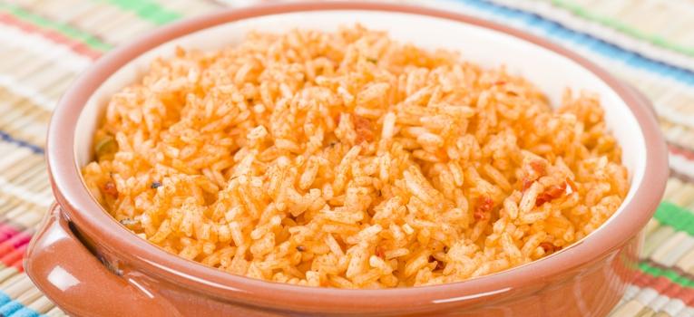 arroz com carne picada no forno