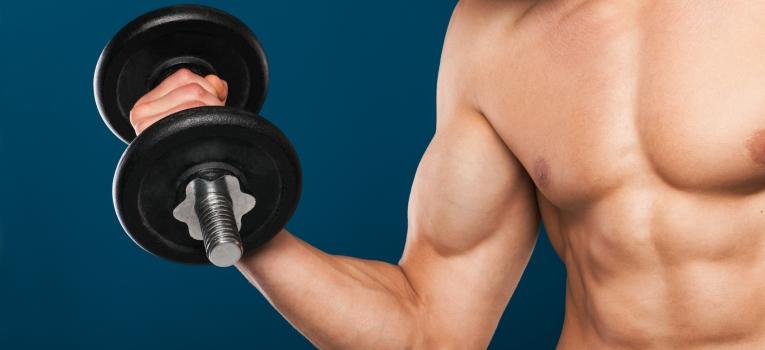 aumento da massa muscular
