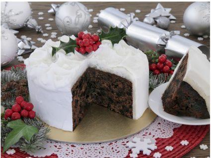 5 Receitas de bolo de natal simples