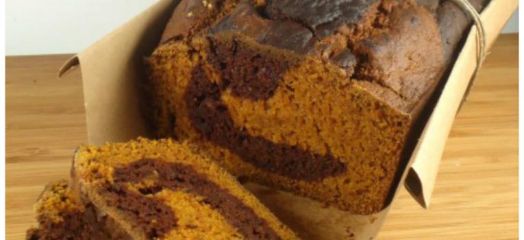 bolo de natal de abobora e chocolate