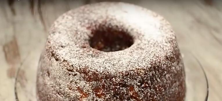 bolo de natal dos acores com fruta