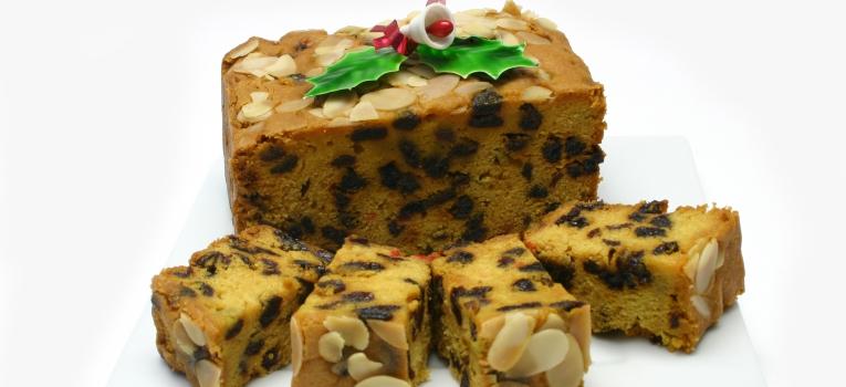 bolo de natal tradicional ingles