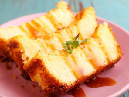 Receitas de bolo pudim: pêssego, chocolate e coco, uma explosão de sabores