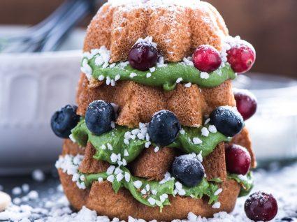 Receitas de bolos de Natal na bimby