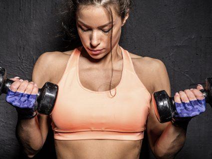 Exercícios com halteres para os braços