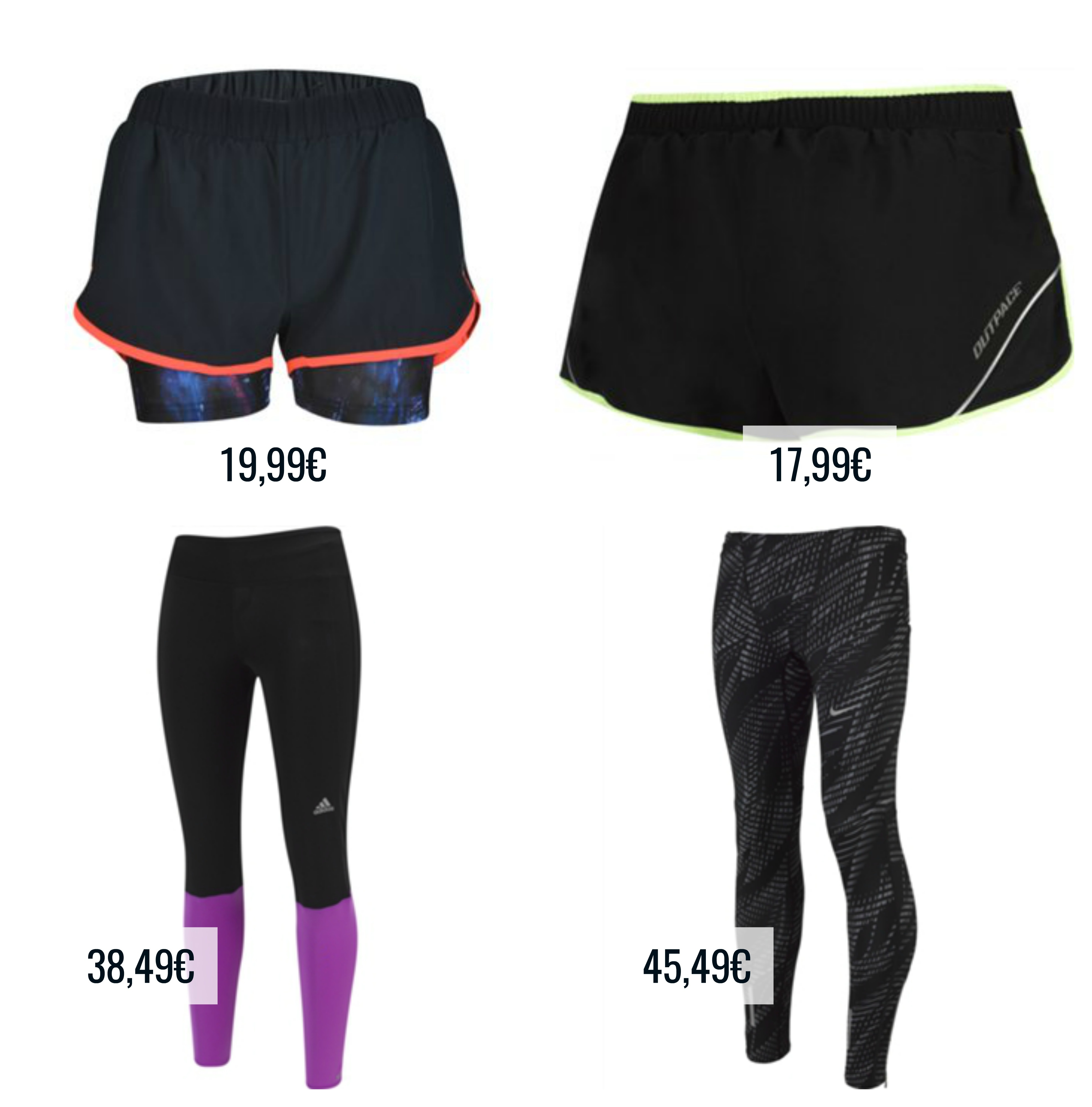 calcoes e calcas para correr sport zone