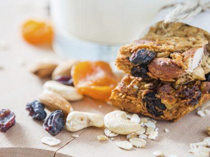 Barras de cereais: snacks práticos e saudáveis