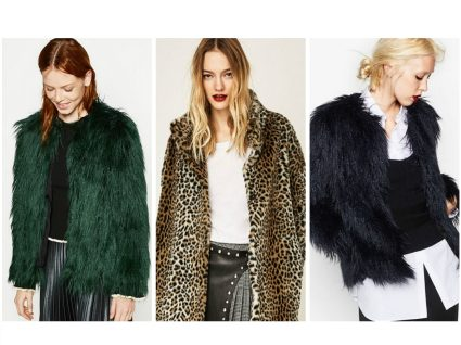 Must have: casacos faux fur