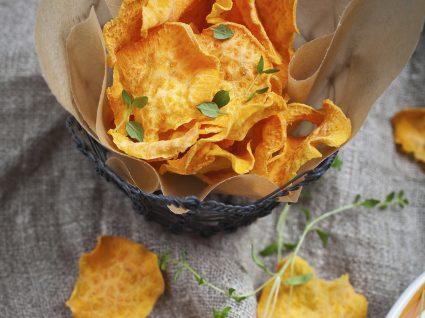 6 Receitas de chips para snacks saudáveis