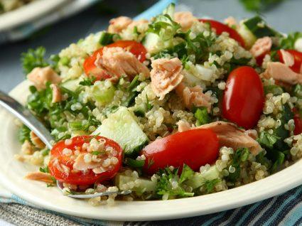 Saladas quentes: cores de verão e cheiro de outono
