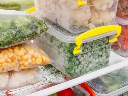 Como conservar alimentos congelados?